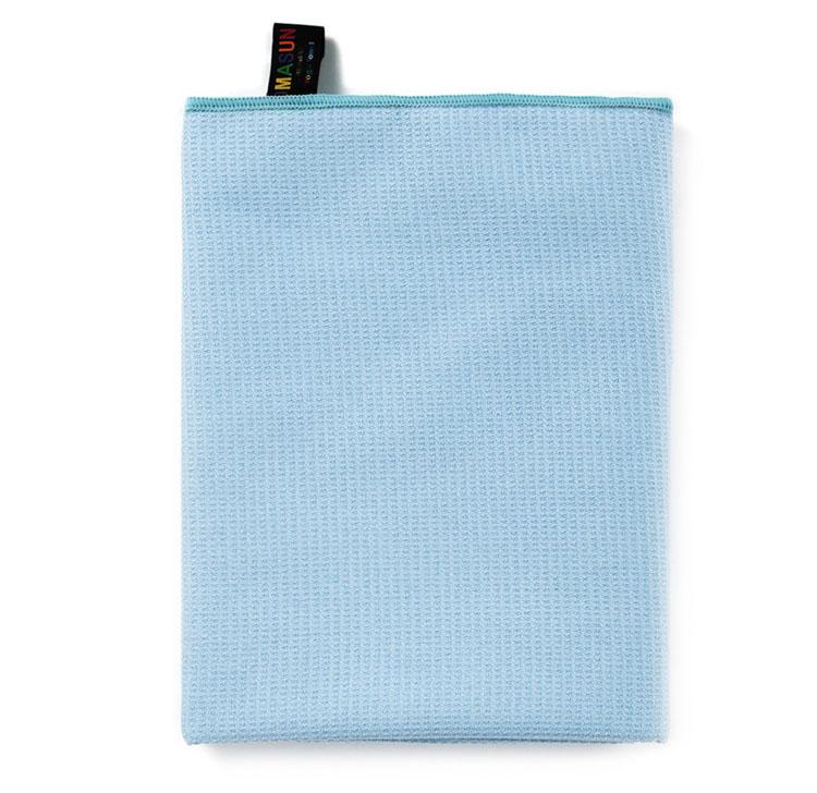 High Quality Light Blue Yoga Towel