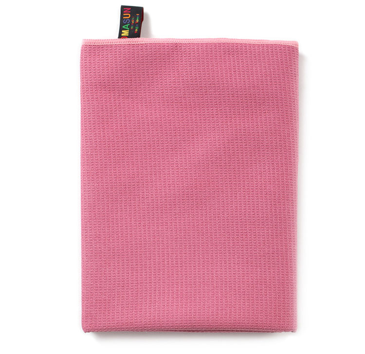 High Quality Pink Yoga Towel