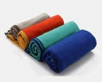Different color bath towel