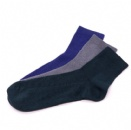 Different color middle size common durable cotton socks