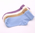 Different color middle size good design comfortable cotton socks