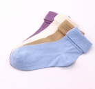 Different color middle size popular design comfortable cotton socks